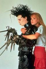 Johnny Depp og Winona Ryder i Edward Saksehånd