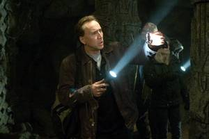 Nicolas Cage som skattejegeren Ben Gates i National Treasure; Book of Secrets