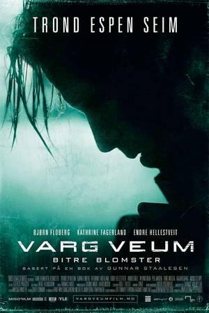 Varg Veum -Bitrel blomster plakat