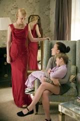 Laura Linney, Nicholas Art og Scarlett Johansson i The Nanny Diaries