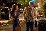 Scarlett Johansson som Annie og Christ Evans som Harvard Hottie i The Nanny Diaries