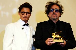 Johnny Depp og Tim Burton