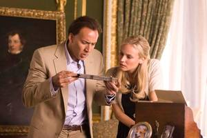 Nicolas Cage og Diane Kruger i National Treasure: Book of Secrets