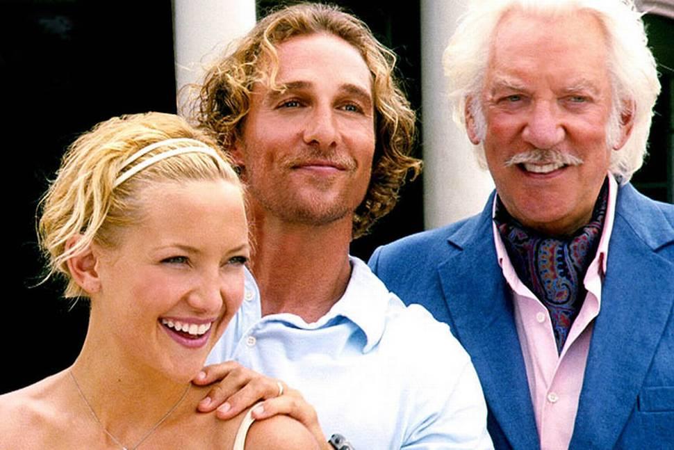 Kate Hudson, Matthew McConaughey og Donald Sutherland i Fool's Gold