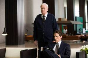 Micheal Caine og Christian Bale i The Dark Knight