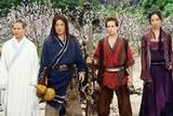 Jet Li, Jackie Chan, Michael Angarano og Yifei Liu