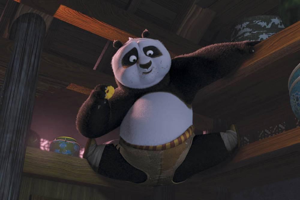 Днем, смешные картинки про кунг фу панда