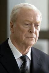 Michael Caine som Alfred i The Dark Knight