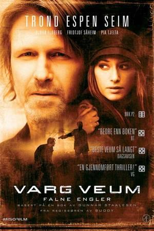 Varg Veum -Falne engler cover
