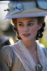 Keira Knightley i rollen som Georgiana, The Duchess of Devonshire i det historiske dramaet