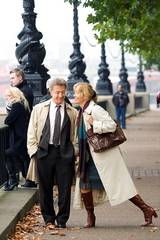 Dustin Hoffman og Emma Thompson i Last Chance Harvey