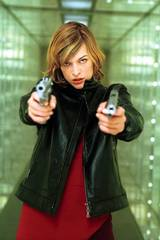 Milla Jovovich i Resident Evil
