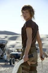 Milla Jovovich i Resident Evil: Extinction