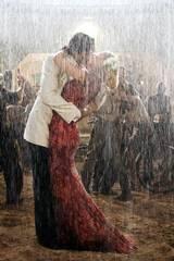 Hugh Jackman som Drover og Nicole Kidman som Lady Sarah Ashley i Australia