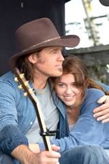 Billy Ray Cyrus og Miley Cyrus i Hannah Montana; The Movie