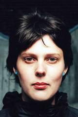 Margreth Olin i forbindelse med hennes bidragsfilm Fråtseri til De 7 dødssyndene