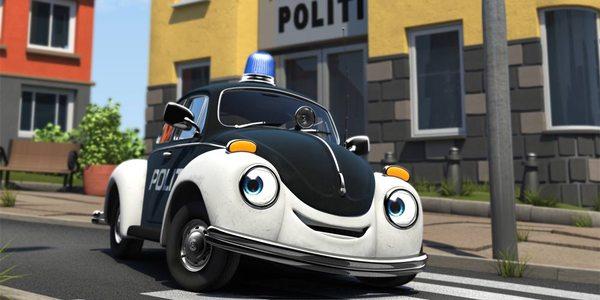 Filmstudieark Pelle Politibil G 229 R I Vannet