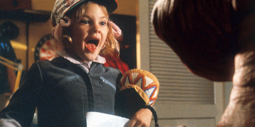 Drew Barrymore i E.T.: The Extra-Terrestrial