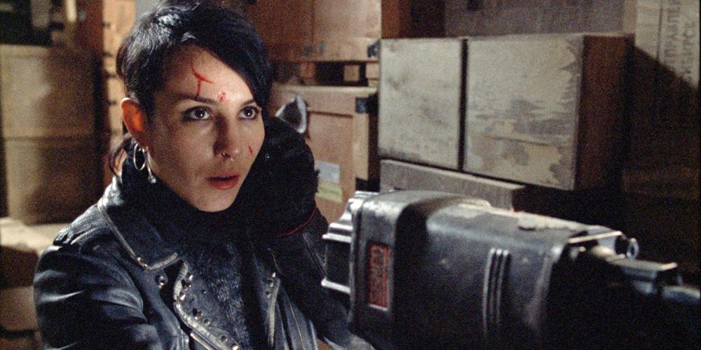 Lisbeth Salander som Noomi Rapace i Luftslottet som sprengtes