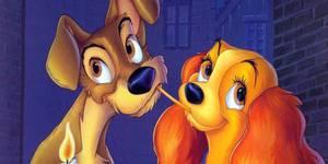 Alle vet hva som skjer i det neste sekundet av den veldig søte Disney-klassikeren Lady og Landstrykeren