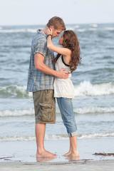 Liam Hemsworth og Miley Cyrus i The Last Song