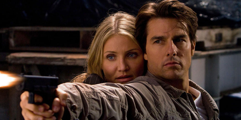 Cameron Diaz og Tom Cruise i Knight and Day