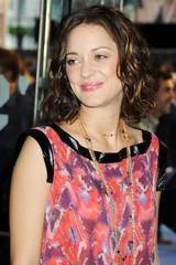 ...mens Marion Cotillard gledet seg til å presentere Inception foran et London-publikum