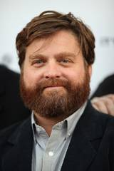 Zach Galifianakis på premieren til It's Kind of a Funny Story