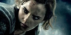 Emma Watson som Hermine i Harry Potter og Dødstalismanene
