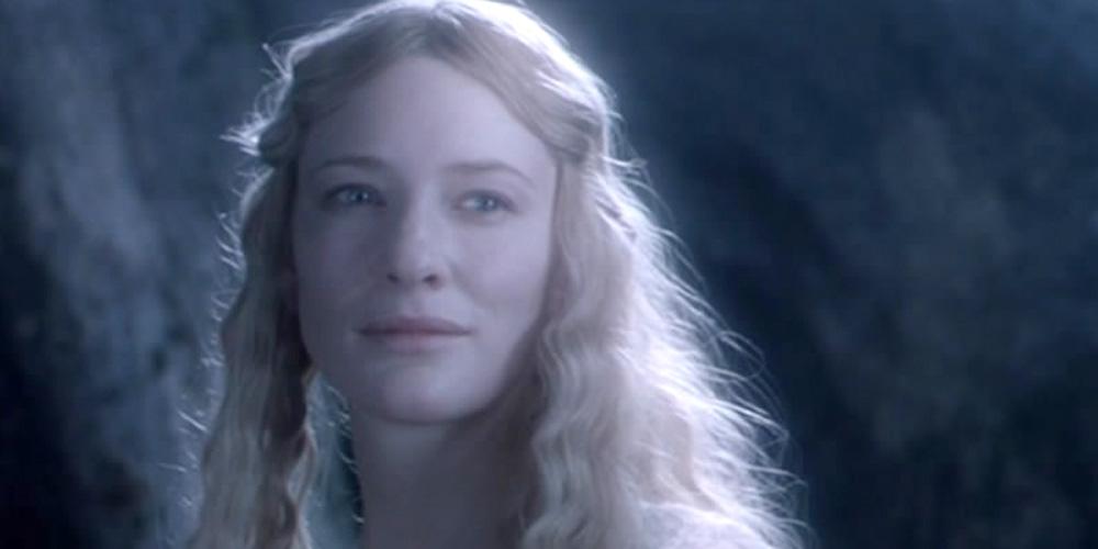 Cate Blanchett som alvedronningen Galadriel