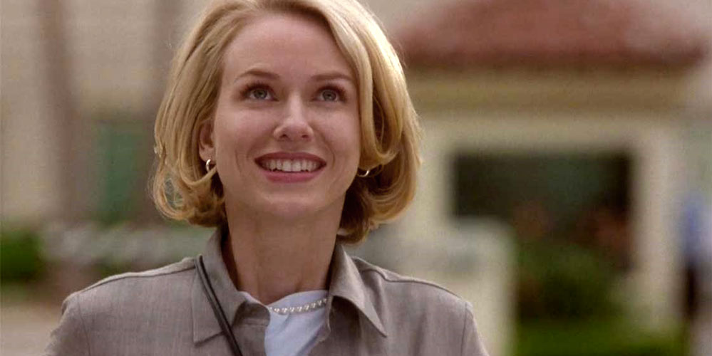 Naomi Watts som Betty Elm i Mulholland Drive