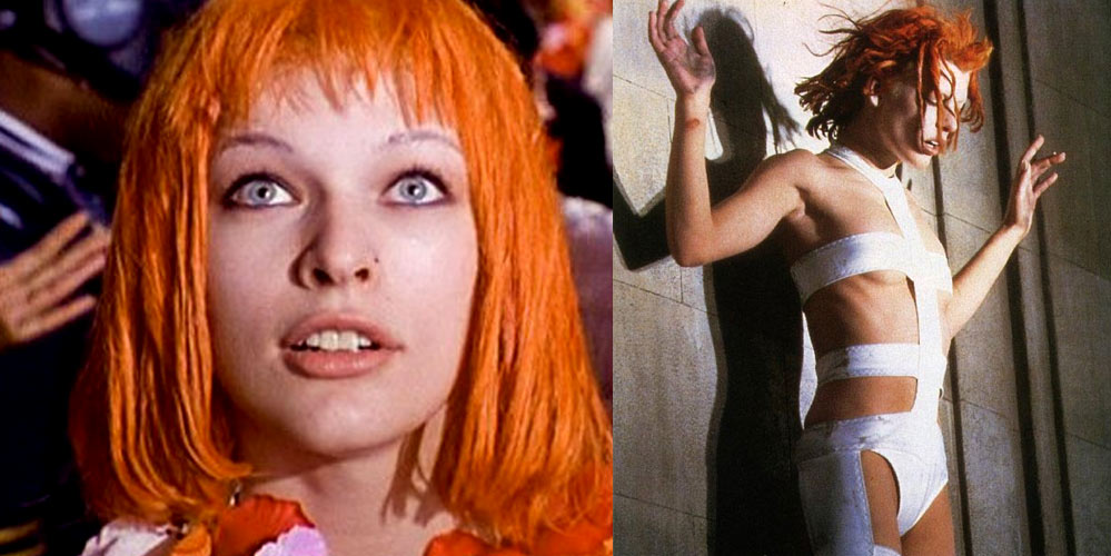 Milla Jovovich som Leeloo i Fifth Element