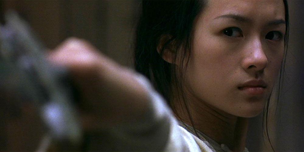 Ziyi Zhang som Jen Yu i Snikende tiger, skjult drage
