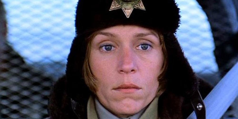 Frances McDormand som Marge Gundersen i Fargo