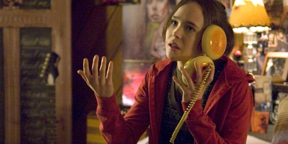 Ellen Page som Juno i Juno