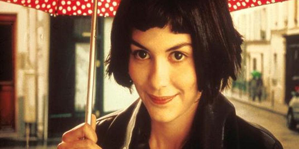 Audrey Tatou som Amelie i Den fabelaktige Amelie fra Montmartre