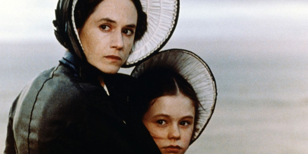 Holly Hunter (Ada) og Anna Paquin (Flora) i Piano