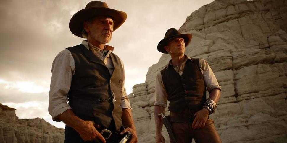 Harrison Ford og Daniel Craig i Cowboys & Aliens
