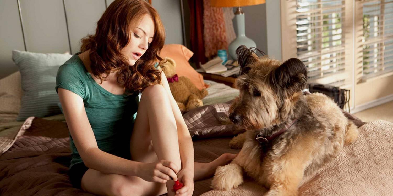 Emma Stone som Olive Penderghast i Easy-A
