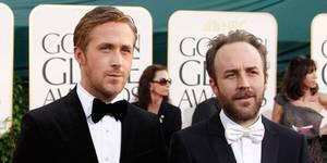 Ryan Gosling, her med regissør Derek Cianfrance, var nominert til beste mannlige skuespiller i et drama for Blue Valentine