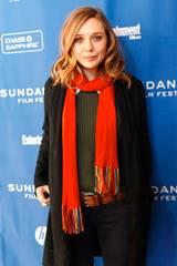 Elizabeth Olsen på Silent House-premiere på Sundance 2011