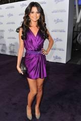 Artist og skuespiller Selena Gomez på LA-premieren til Justin Bieber: Never Say Never
