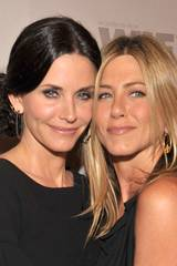Courtney Cox og Jennifer Aniston