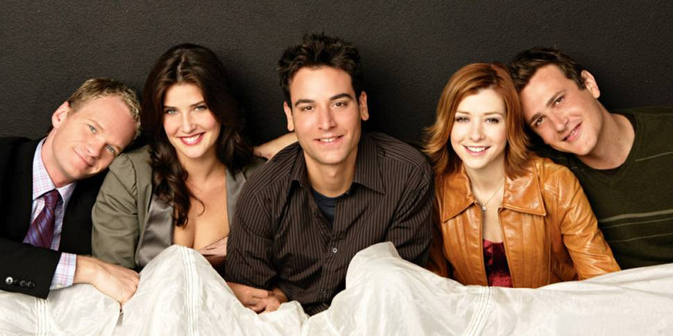 Neil Patrick Harris, Cobie Smulders, Josh Radnor, Alyson Hannigan og Jason Segel i How I Met Your Mother