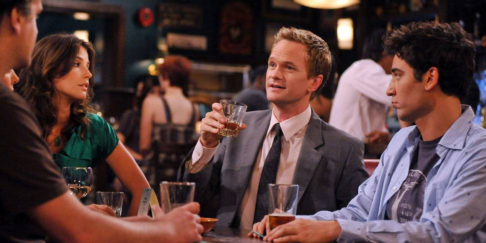 Cobie Smulders, Neil Patrick Harris og Josh Radnor i How I Met Your Mother