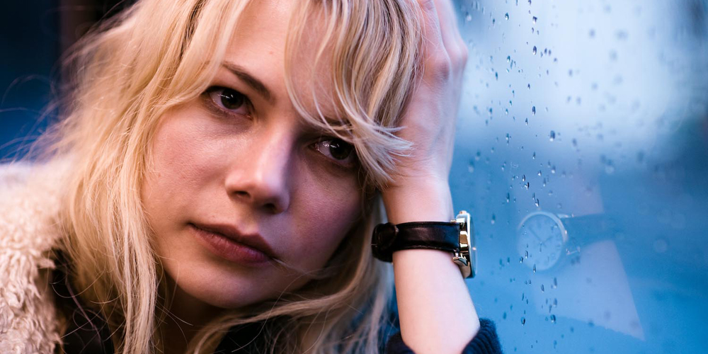 Michelle Williams som Cindy i Derek Cianfrances Blue Valentine