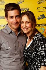 Jake Gyllenhaal og Vera Farmiga i forbindelse med Source Code under SXSW 2011
