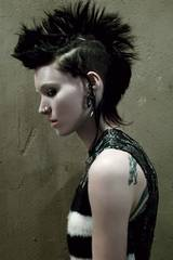 Rooney Mara i The Girl With the Dragon Tattoo