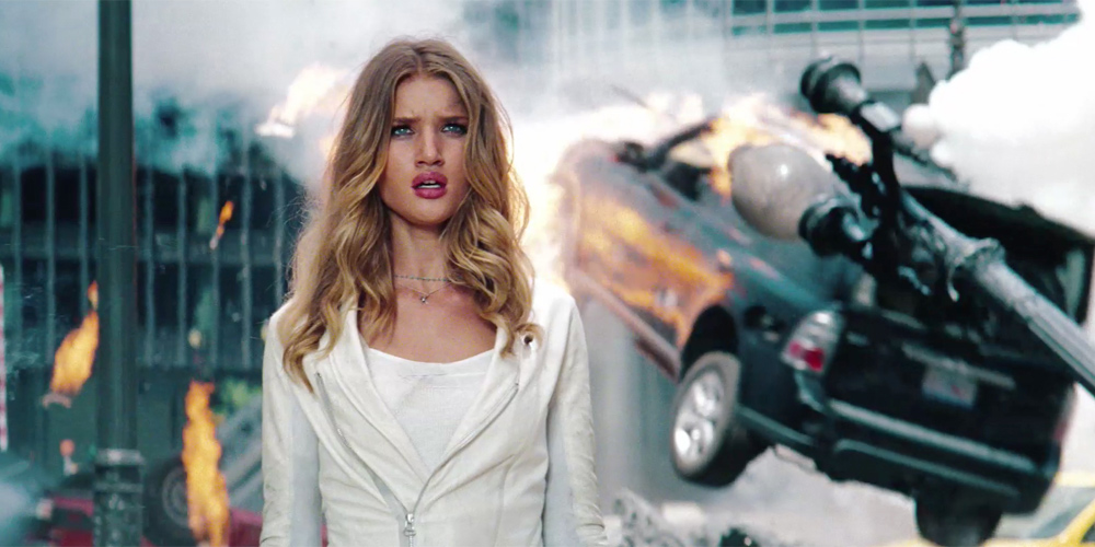 Rosie Huntington-Whiteley i Transformers 3