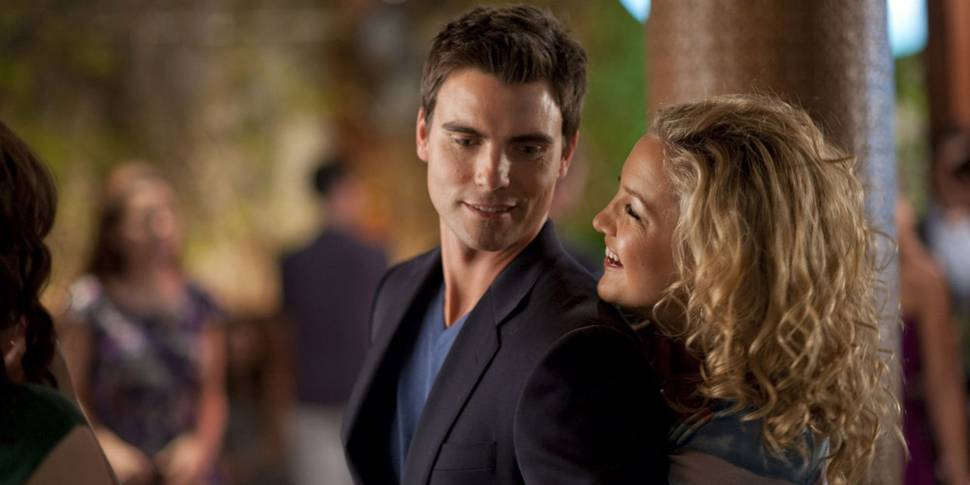 Colin Egglesfield som Dex og Kate Hudson som Darcy i Something Borrowed